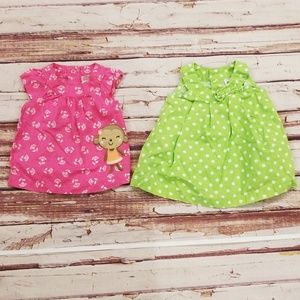 Set of 2 Baby Girl 3 Months Tops
